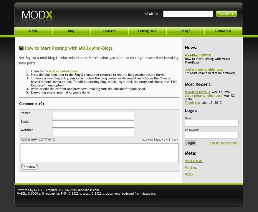 modx sample site 1 1 0 pl